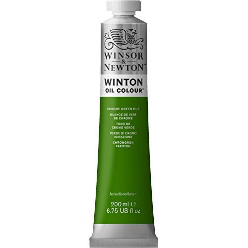 Winsor & Newton Winton 200ml Oil Colour - Chrome Green Hue [office Product]
