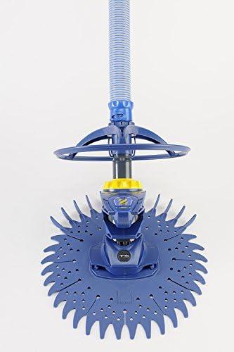 Zodiac Robot Nettoyeur de Piscine Hydraulique, Fond Seul, Pour Piscines 9 x 5 m Maximum, Aspiration à Diaphragme, T3, Bleu, W70674 - Home Robots