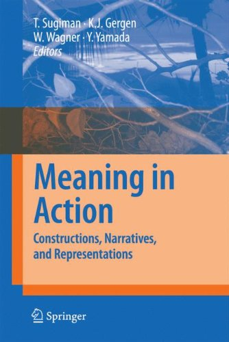 Read Online Meaning in Action: Constructions, Narratives, and Representations ebook