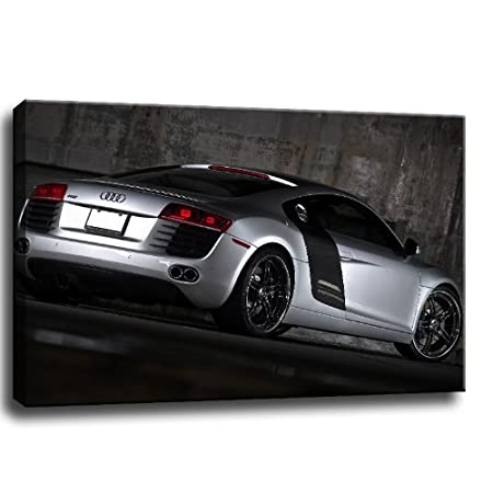 Audi R Picture On Canvas Lenght Height Amazonco - Audi r9