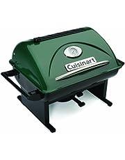 "Cuisinart CCG-100 GrateLifter Portable Charcoal Grill, Green, 17.7"" X 18.5"" X 15.4"""