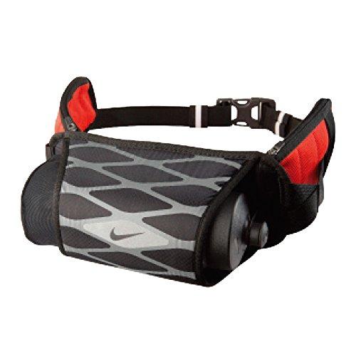 Nike Vapor/Storm Hydration Waistpack (22oz, OSFM, Black/Cool Grey/Light (Best Nike Running Hydration Belts)