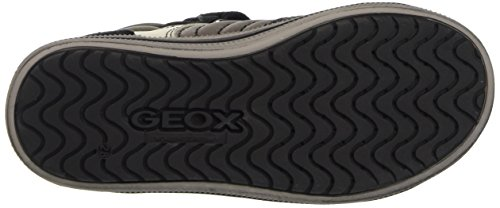 Geox Sneakers Blackc0062 Grey Hi a Boys' Jr Dk Grey Top Elvis aRwaZ