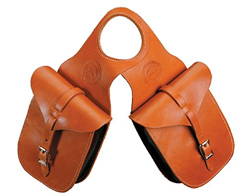 The Colorado Saddlery Leather Horn Bag