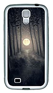 Galaxy S4 Case, Personalized Custom Protective Soft Rubber TPU White Edge Halloween 04 Case Cover for Samsung Galaxy S4 I9500