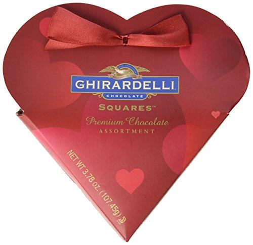 Ghirardelli Valentines Chocolate Squares Premium Chocolate Assortment 3 78