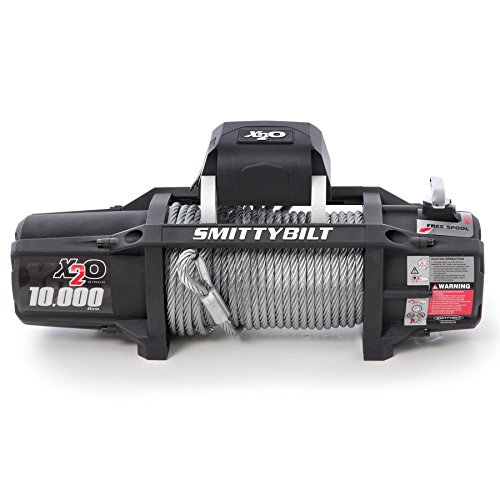 (Smittybilt 97510 X 2O Waterproof Winch - 10000 lb. Load Capacity)