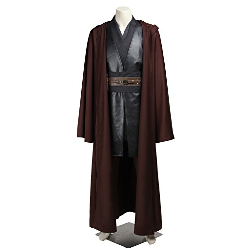 CosplayDiy Men's Costume Outfit for Star Wars Darth Vader Cosplay with Robe XL (Anakin Skywalker Robe)
