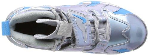 Nike Air Dt Max '96 Mænd Sko Sneakers Sort / Volt / Glimmer Grøn 316.408 Til 004 Metallisk Sølv / Levende Blå-sort ttcEXknx