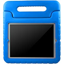 AVAWO Apple iPad 2 3 4 Kids Case - Light Weight Shock Proof Convertible Handle Stand Kids Friendly for iPad 2, iPad 3rd generation, iPad 4th generation Tablet - Blue