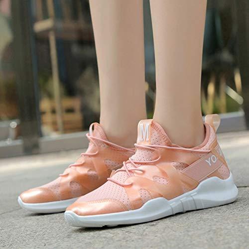 Mujeres coreanas de moda zapatos deportivos transpirables verano verano al aire libre caminar zapatillas zapatillas para...
