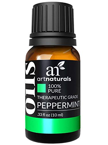 ArtNaturals 100% Pure Peppermint Essential Oil - (.33 Fl Oz / 10ml) - Natural Premium Therapeutic Grade Mentha Peperita - Fresh Scent for Home and Work, Perfect to Repel Mice and Spiders