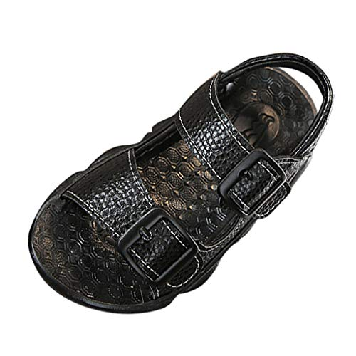 WENSY Summer Infant Baby Child Baby Boy Buckle Non-Slip Soft Bottom Bear Sole Casual Shoes Sandals Beach ()