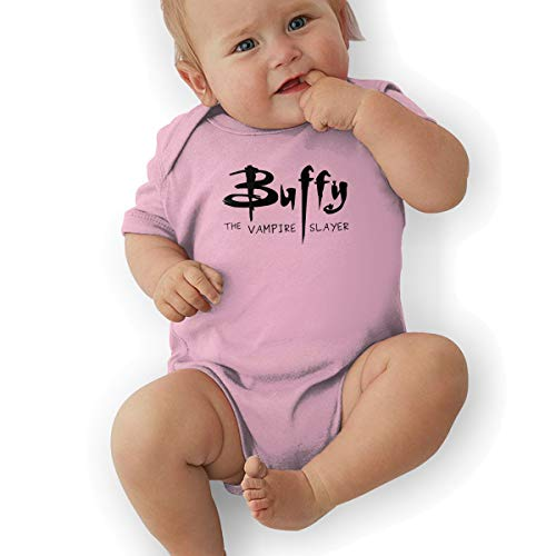 JosephG Toddler Buffy The Vampire Slayer Romper Bodysuit Outfits Pink 0-3M