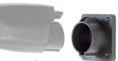 The ORIGINAL evCHARGEsolutions J1772 Connector Holster Dock for EVSE Electric Vehicle Charger Plug Holder Storage