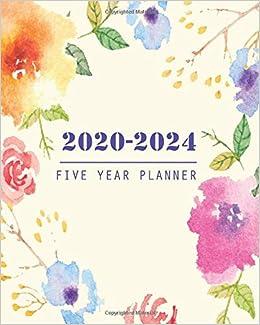 Amazon.com: 2020-2024 Five Year Planner: 60 Months Calendar ...