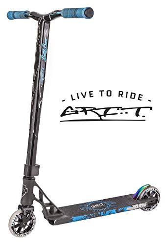 - Grit Elite Pro Scooter (Satin Grey/White)