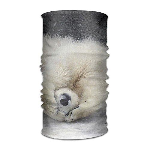 Price comparison product image Owen Pullman Hundred Change Headscarf Bears Baby Polar Wildlife Cartoon Fashionable Outdoor Athletic Bandana Headbands Multifunctional Headwear