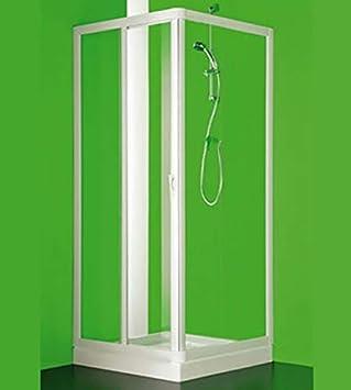 Box ducha angular Maestro dos, cm.120 – 110, Puerta fija Ma, cm.72 ...