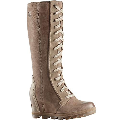 Wedge Brown Joan Nubuck Grain Tall II SOREL Leather Combo Boots Full of Arctic Ash Women's xI5z5qwOPp