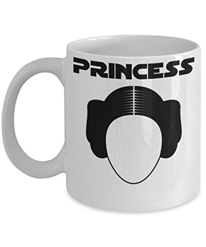 Princess Leia By Trinkets and Novelty Star Wars Old Republic Jedi Knight Light saber Rebellion Rebel Alliance Sith Apprentice 11-oz Coffee Mug Tea Cup is Perfect Star Wars Merchandise (Princess Leia Quotes)