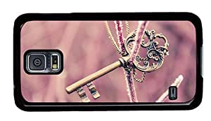 Sale design Samsung cover Mysterious key PC Black for Samsung S5,Samsung Galaxy S5,Samsung i9600