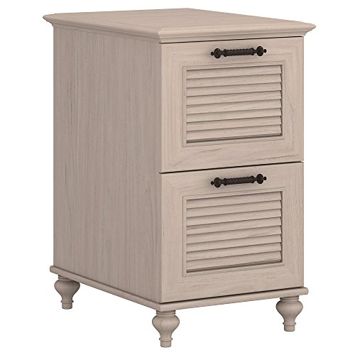 kathy ireland Home by Bush Furniture Volcano Dusk 2 Drawer File Cabinet in Driftwood - 2 Ireland Piece Kathy