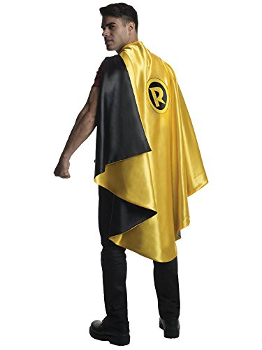 Rubie's Men's DC Superheroes Deluxe Robin Cape, Multi, One -