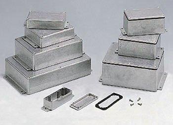 "CES FLANGED ALUMINUM BOXES 4.49"" X 2.52"" X 2.16"" by CES (Image #1)"