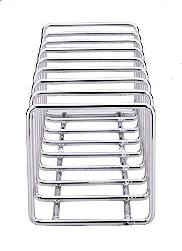 Large Product Image of Pro Chef Kitchen Tools Stainless Steel Pot Lid Organizer - Keep Your Cabinets Organized with Metal Vertical Storage Shelf To Hold Pan Lids, Plates, Dishes, Cutting Boards
