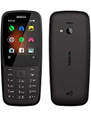Nokia 220 4G (Official Australian Version) 2019 Basic Unlocked Mobile Phone with Keypad, Camera, FM Radio and Games, Black