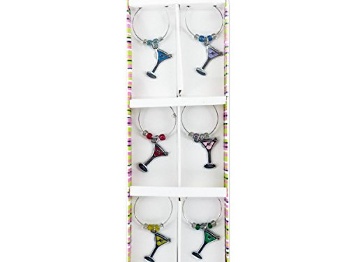 Bed Bath and Beyond Martini Wine Charm Set