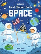 Space (Usborne First Sticker Book)
