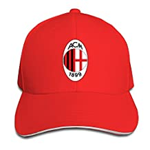 AC Milan Football Club Peaked Hat Baseball Cap