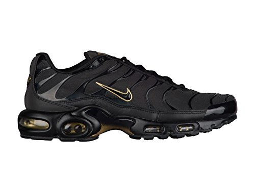Nike Air Max Plus Mens 852630-024 Zwart / Zwart-metallic Goud
