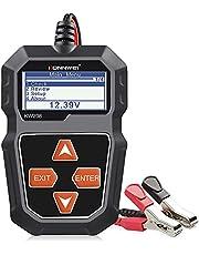 Konnwei KW208 testador de bateria de carro 12V, testador de carga CCA 100-2000, testador de alternador automotivo, analisador de bateria automotiva, sistema de carregamento de arranque para carro, caminhão, motocicleta, SUV, barco