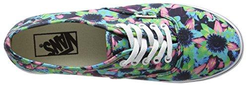 Bestelwagens Unisex-volwassenen Authentieke Lo Pro Sneaker Mehrfarbig (bloemen Mix / Zwart / Turquoise)