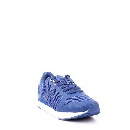 con da in tomaia uomo Klein TAGLIA Calvin sulla logo S1673 tessuto Sneakers mesh bluette Jeans COD laterale 44 COBALT XwqztRxBn1