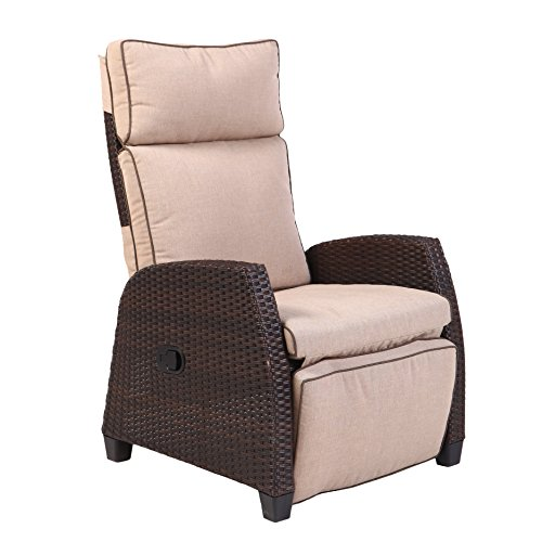 Grand Patio Deluxe Patio Recliner with Cushion (Patios Grand)