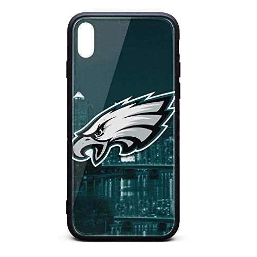Price comparison product image ZaiyuXio iPhone X Case,  iPhone Xs Case Tempered Glass Back Cover Scratch-Resistant Anti-Slip Soft TPU Frame for iPhone X / iPhone Xs