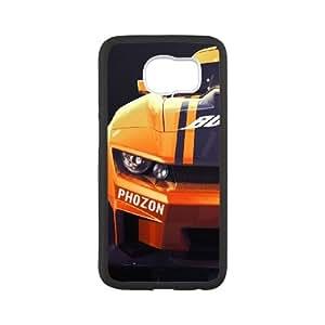 Samsung Galaxy S6 Cell Phone Case Black_Ridge Racer 3D Vvoro
