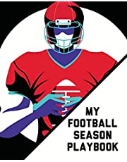 My Football Season Play Book: For Players - Coaches - Kids - Youth Football - Intercepted