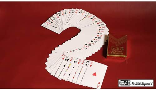 by Mr Trucos Magia y la Magia Magic Tricks with Cards SOLOMAGIA Electric Deck Deluxe 52 Cards Bridge