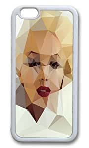 Apple Iphone 6 Case,WENJORS Awesome Monroe I Soft Case Protective Shell Cell Phone Cover For Apple Iphone 6 (4.7 Inch) - TPU White