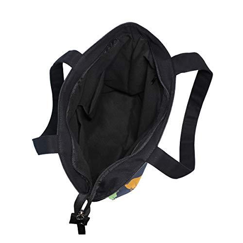 001 Única Bennigiry De Tela Multicolor Talla Totalbag Mujer Para Bolso Uvqz5xq6