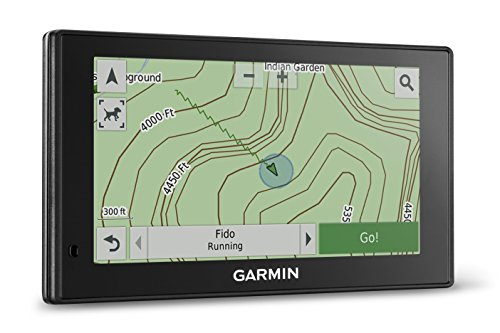 Garmin DriveTrack 70 LMT In-vehicle Dog Tracker and GPS Navigator with Lifetime Maps and Traffic for City Navigator Road Maps, and TOPO U.S. 100K Mapping