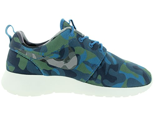 Nike Wmns Roshe One Print - Zapatillas Mujer Azul / Verde