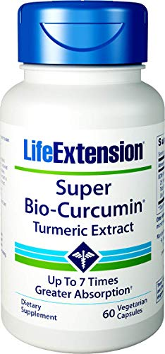 Life Extension Super Bio-Curcumin Turmeric Extract 400mg, 60 Vegetarian -