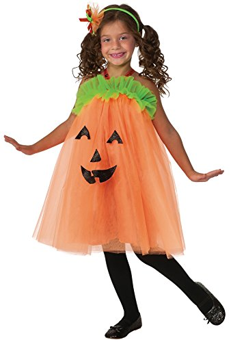 Rubies Pumpkin Tutu Dress Costume, Toddler]()