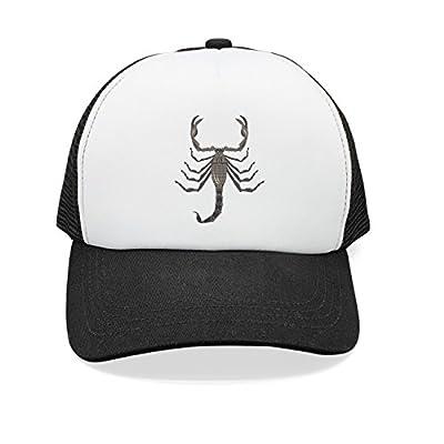 ZhongQi Cartoon Scorpio Man ColorName Popular Mesh Cap Trucker Hat